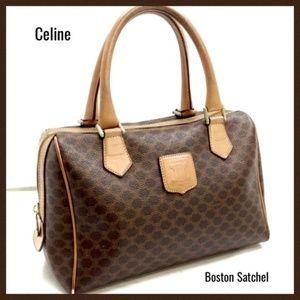 Celine macadam boston bag satchel handbag